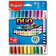 Maped Color Peps Duo, 20 farieb - Fixky