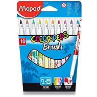 Maped Color Peps Brush, 10 farieb - Fixky
