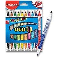 Maped Color Peps DuoTips, 10 farieb - Fixky