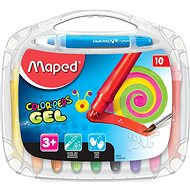 Maped Color Peps Gel, 10 farieb - Pastelky