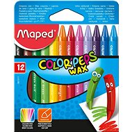 Maped Color Peps Wax, 12 farieb - Pastelky