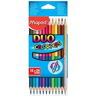 Maped Color Peps Duo, 24 farieb - Pastelky