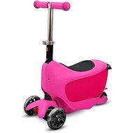 Buddy Toys BPC 4312 Taman 2 v 1 ružová - Detská kolobežka