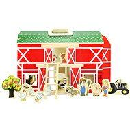 Farma hrací set 17 ks - Detský domček