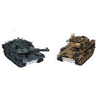 Tank RC 2ks - Tank na diaľkové ovládanie