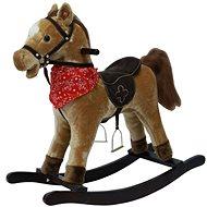 Kôň hojdací svetlo hnedý - Plyšová hračka