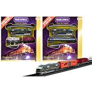 Vlak s koľajnicami - Vláčikodráha