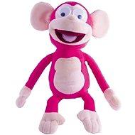 Mikro Trading Fufris opička plyšová ružová