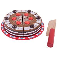 Bigjigs Krájacia drevená torta - Herný set