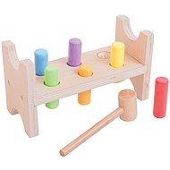 Bigjigs Drevená zatĺkačka - Didaktická hračka