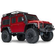 Traxxas TRX-4 Land Rover Defender 1:10 TQi RTR červený - RC auto na diaľkové ovládanie