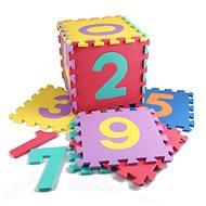Čísla 10 ks - Penové puzzle