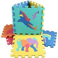 Zvieratká 10 ks - Penové puzzle