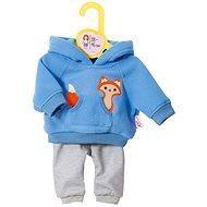 Dolly Moda Teplákovka modrá 38 – 46 cm - Doplnok pre bábiky