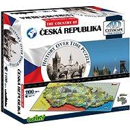 4D Puzzle Česká republika - Puzzle