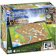 4D Puzzle Národný geografický Rím