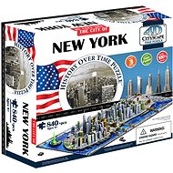 4D Puzzle Cityscape Čas panorama New York