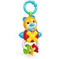 Clementoni Elektronická hrkálka medvedík s úchytkou - Hračka pre najmenších