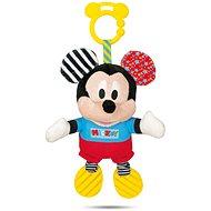 Clementoni Mickey Plyšová so zvukom a úchytkou - Hračka na kočík