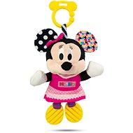 Clementoni Minnie plyšová so zvukom a úchytkou - Hračka pre najmenších
