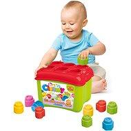 Clementoni Clemmy baby Prestrkovacie vedierko s 18 kockami - Hračka pre najmenších