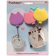 Pusheen and Stormy Baloon set - Plyšová hračka