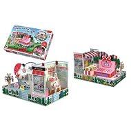 Skladačka priestorová Obchod Myšky Minnie - Kreatívna hračka