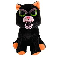 Feisty Pets Mačka čierna a biela - Plyšová hračka