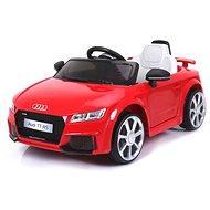 Audi TT RS červené - Detské elektrické auto