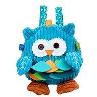 Discovery baby Backpack zo školy sova modrej
