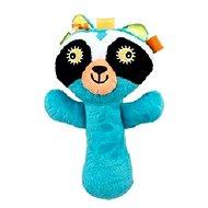 Discovery baby Hrkálka mýval - Textilná hračka