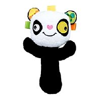 Discovery baby Hrkálka panda - Textilná hračka
