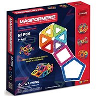 Magformers 62 - Magnetická stavebnica
