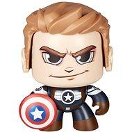Marvel Mighty Muggs Captain America bez fúzov - Figúrka