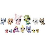 Littlest Pet Shop Veľké balenie zvieratiek – Krásky - Herný set