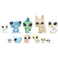 Littlest Pet Shop Frosting Frenzy 13 ks mini zvieratiek - Figúrky