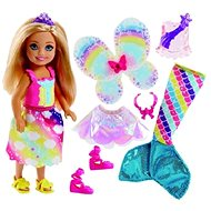 Barbie Dreamtopia Chelsea Rozprávkové oblečenie 1 - Bábika