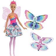 Barbie Lietajúca víla s krídlami – blondínka - Bábika