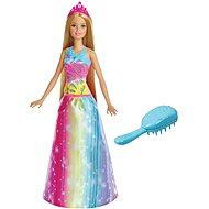 Barbie Magické vlasy – blondínka - Bábika