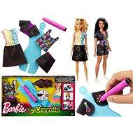 Barbie D.I.Y. Crayola magický vzor modrá - Doplnok pre bábiky