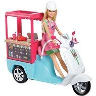 Barbie Varenie a pečenie Bistro skúter - Bábika