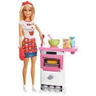 Barbie Varenie a pečenie Herná súprava - Bábika