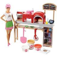 Barbie Varenie a pečenie Pizza herná súprava - Bábika