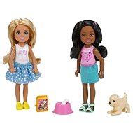 Barbie Chelsea dvojitá súprava Šteňa