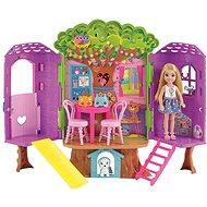 Barbie Chelsea a domček na strome - Bábika