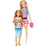 Barbie Sestry dvojitý set Barbie + Stacie
