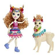 Enchantimals Bábika s veľkým zvieratkom Lama