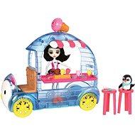 Enchantimals Vozík s tučniakom - Herný set