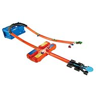 Hot Wheels Track Builder V kufríku – Zákruta - Autodráha
