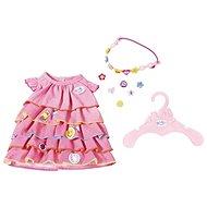 BABY Born Letné šatôčky s pripínacími ozdobami - Doplnok pre bábiky